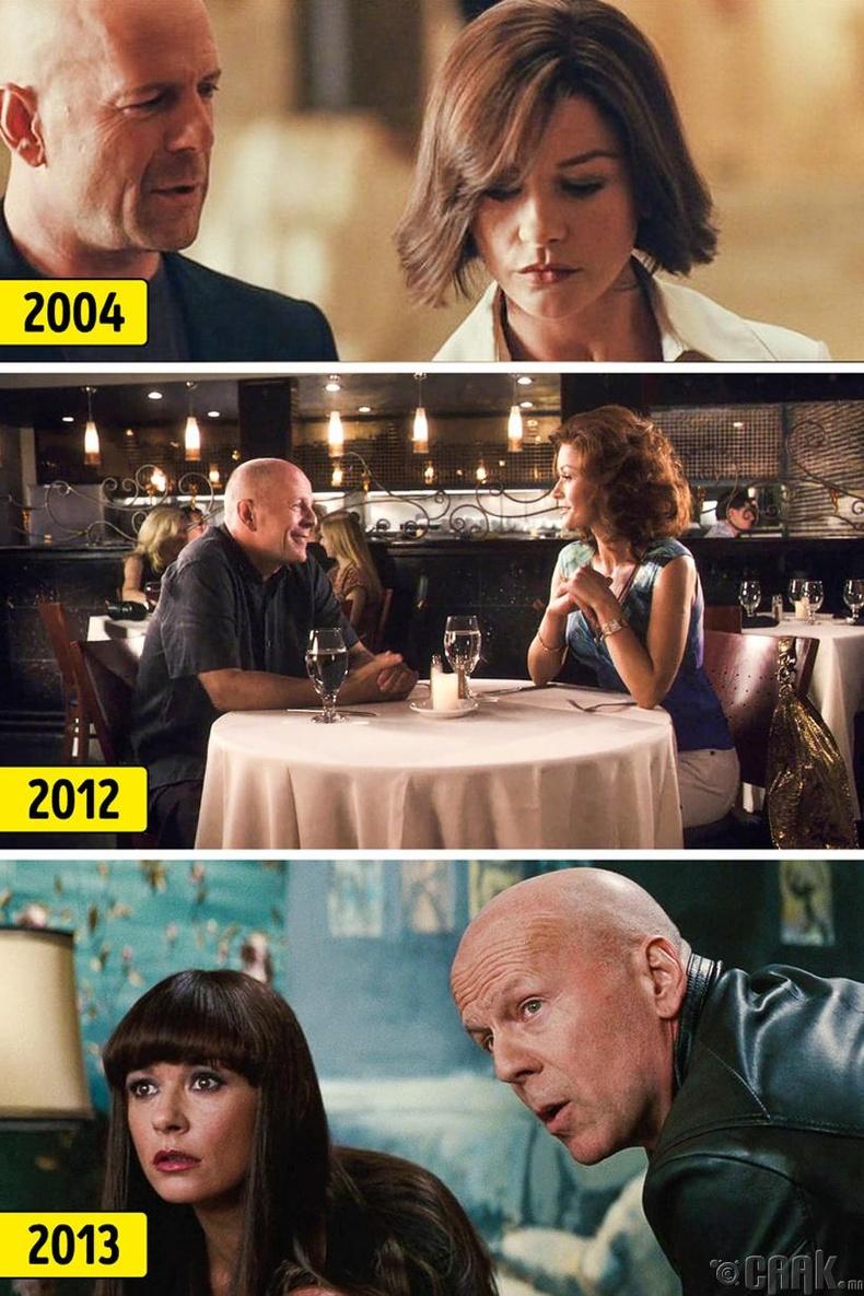 Кэтерин Зета Жонес болон Брюс Уиллис (Catherine Zeta-Jones, Bruce Willis)
