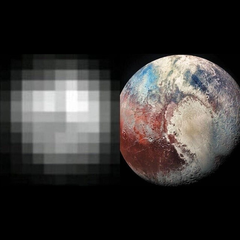 Эцэст нь Дэлхий ван буюу Плутон гаригийг 1994 оноос хойш ийнхүү хардаг болжээ.