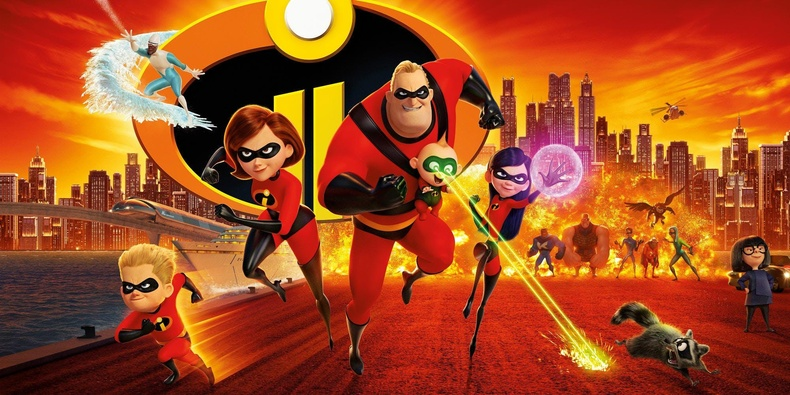 """Incredibles 2"" - IMDb оноо: 7.8"