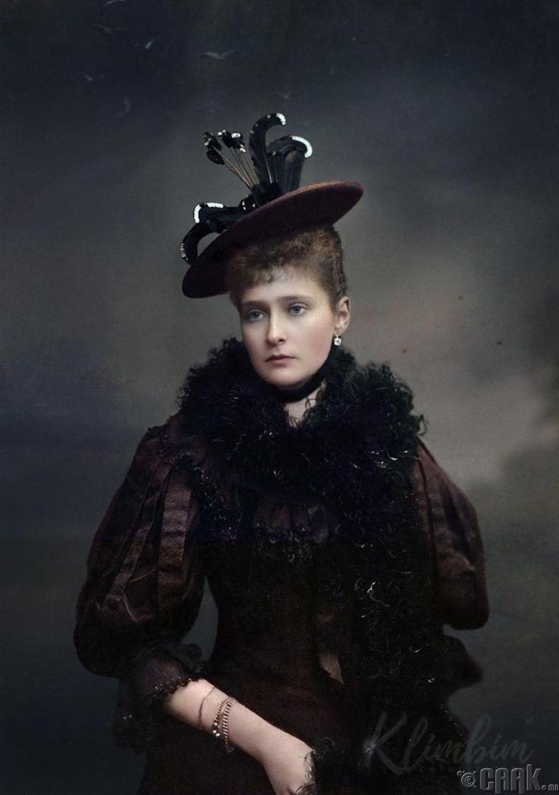 Оросын сүүлчийн хатан хаан Александра Фёдоровна - 1909 он