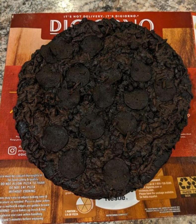 Захиалга өгтөл ийм пицца ирвэл яах вэ?