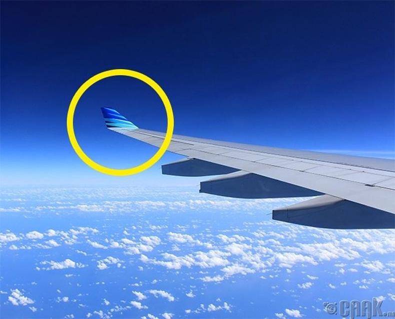 Онгоцны далавч яагаад нугаларсан байдаг гээч...