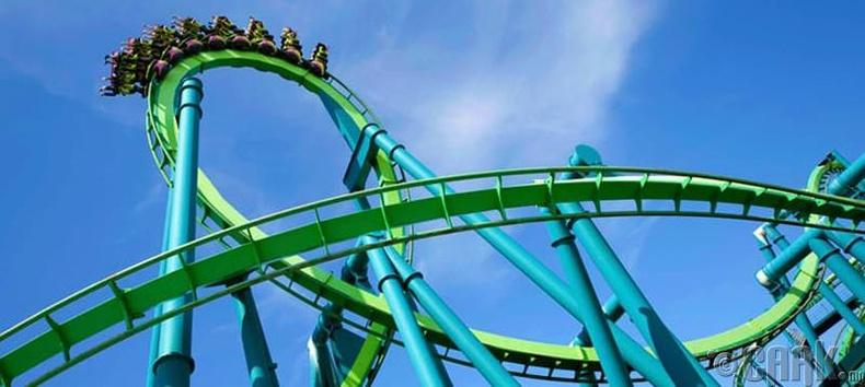 """""""Cedar Point""""-ийн галзуу хулгана"""