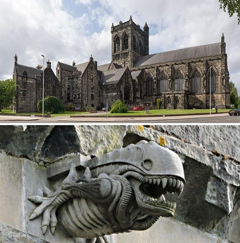 Шотландын Пейсли сүм дэх харь гарагийнхан