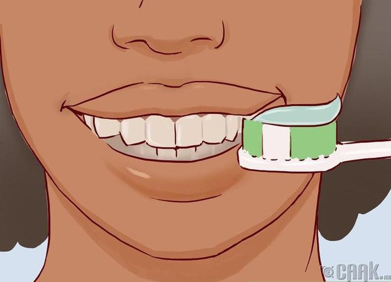 Гэрийн нөхцөлд шүд цайруулах хялбар арга
