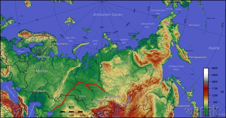 Сибирийн мөрнүүдээс ус татах төсөл