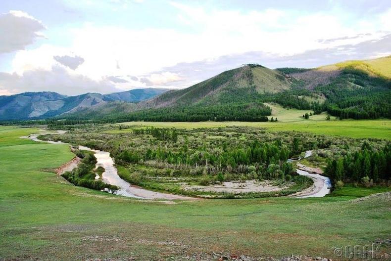 Аригийн гол буюу Ариг ус. Чандмань-Өндөр сум