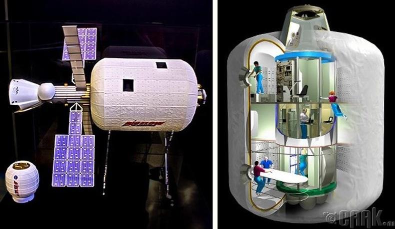 Хамгийн анхны сансрын зочид буудал нээгдэнэ - 2020 он