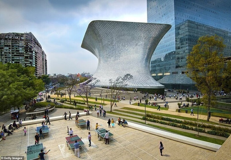 Сумаяа музей, Мехико хот