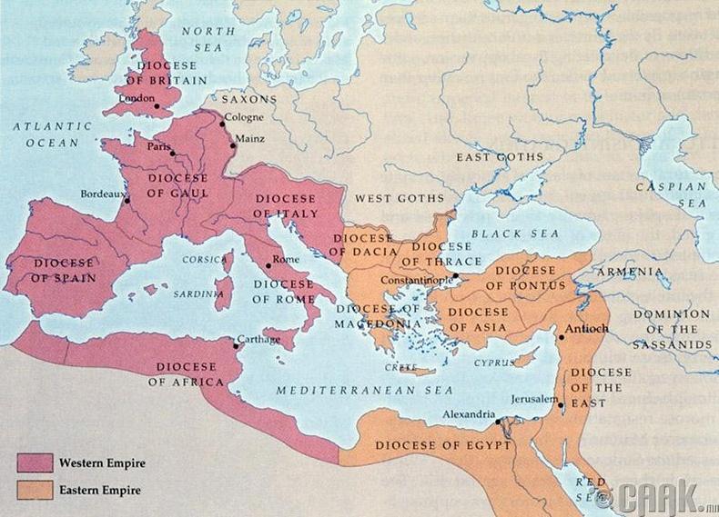 Баруун Ромын эзэнт улс