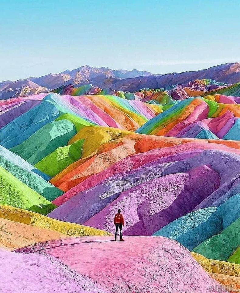 Солонгон уулс, Перу
