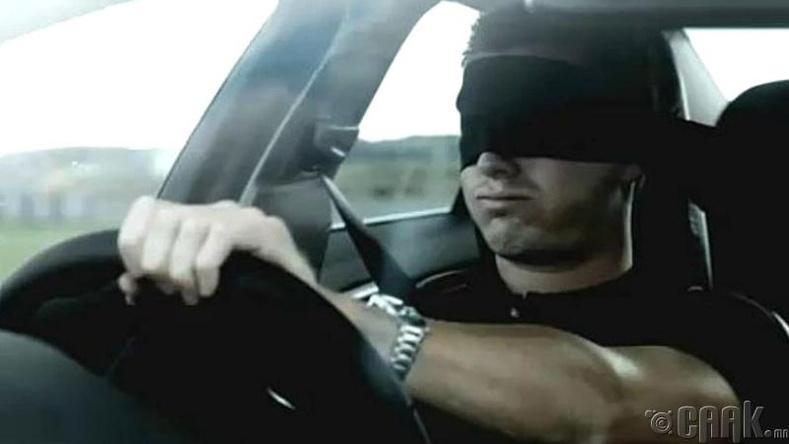 Алабамад нүдээ боож жолоо барьж болохгүй