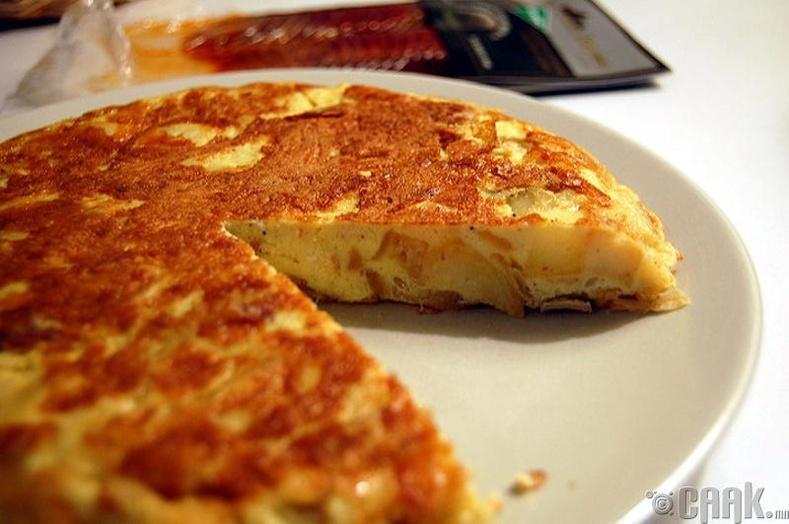 Тортилла(Tortillia), Испани