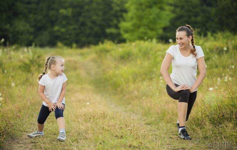 Өдөрт 20 минут орчим дасгал хий