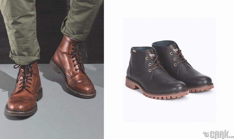 Классик загварын хагас түрийтэй гутал