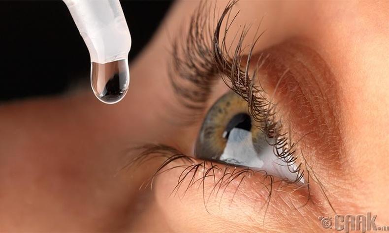 Нүдний дусаалга
