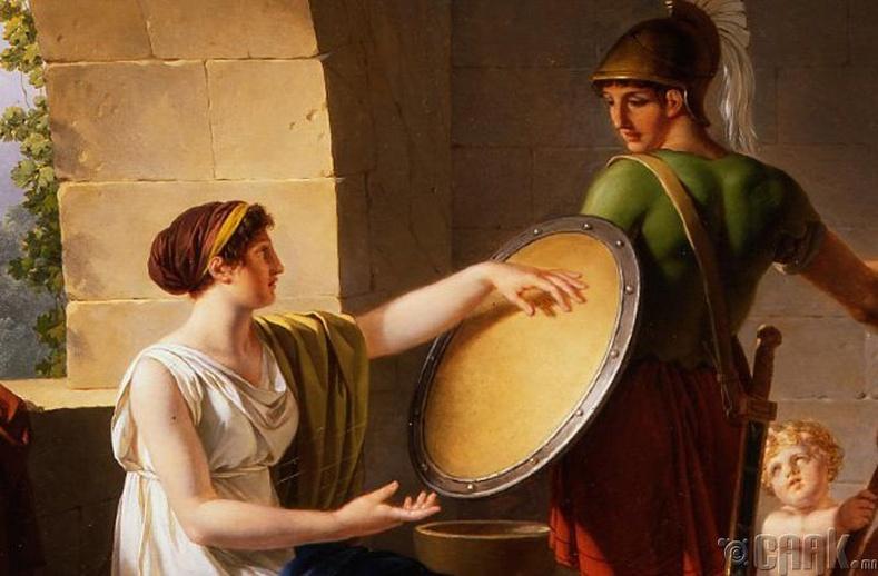 Спарт эмэгтэй