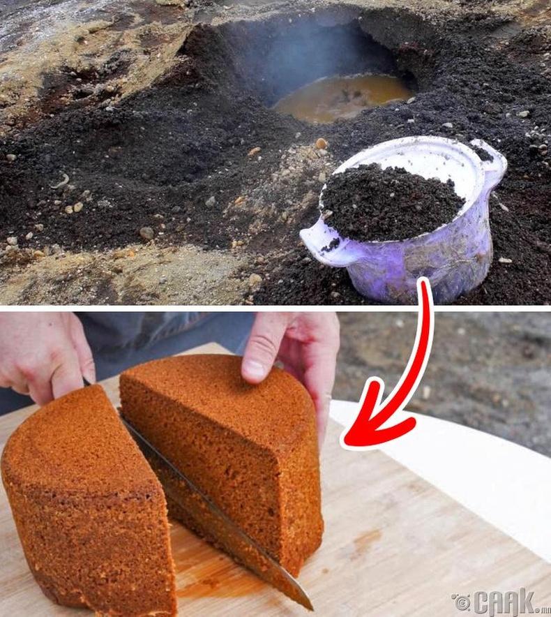 Исландад шороон дор талх барьдаг уламжлал бий