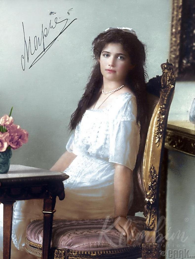 Гүнгий авхай Мария Романова - 1913 он