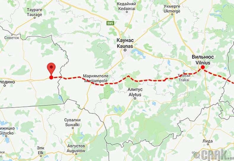 """Ердөө 1000 рублиэр """"Нестеровын галт тэрэг""""-ээр Европ хүрч болно"""