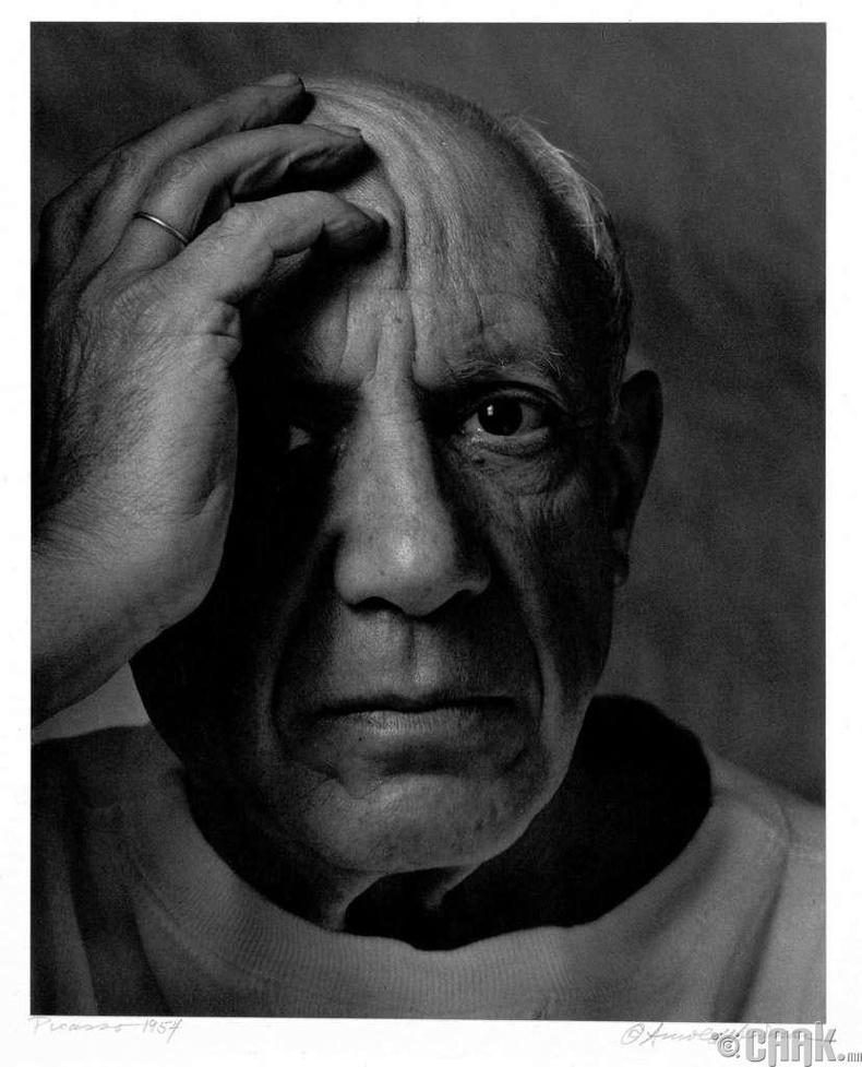 """1973 онд Зураач Пабло Пикассог таалал төгсөхтэй зэрэгцээд алдарт Пинк Флойд хамтлагийн """"Dark Side of the Moon"""" цомог гарч байжээ"""