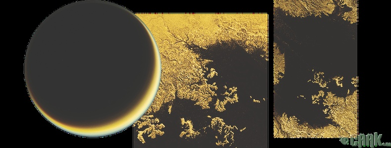 Титан, Энцелада, Европа