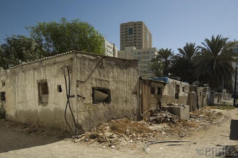 Дубайн ядуусын хороолол, Арабын Нэгдсэн Эмират улс