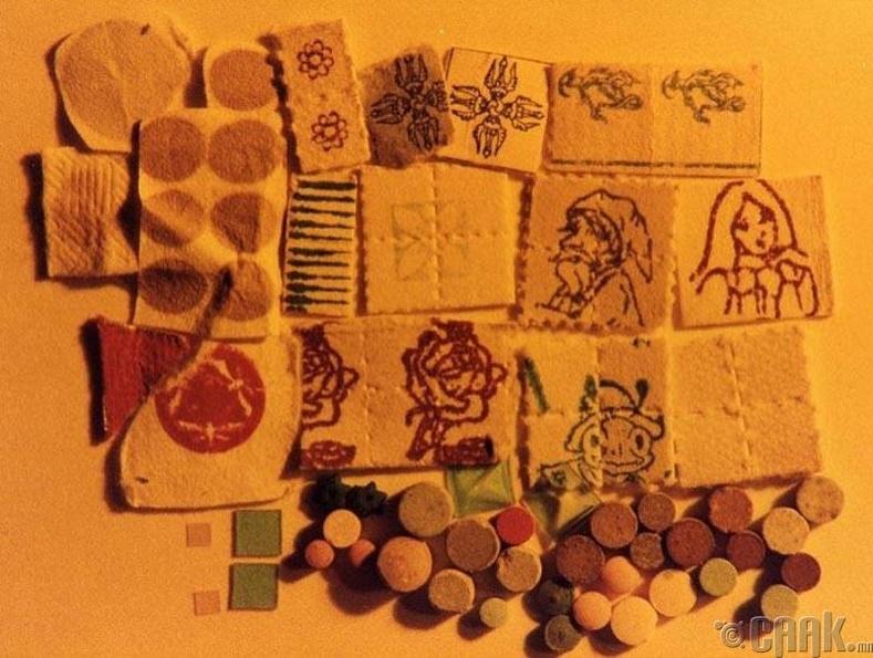 Лизергийн хүчил буюу LSD (нэг литр нь 33,200$)
