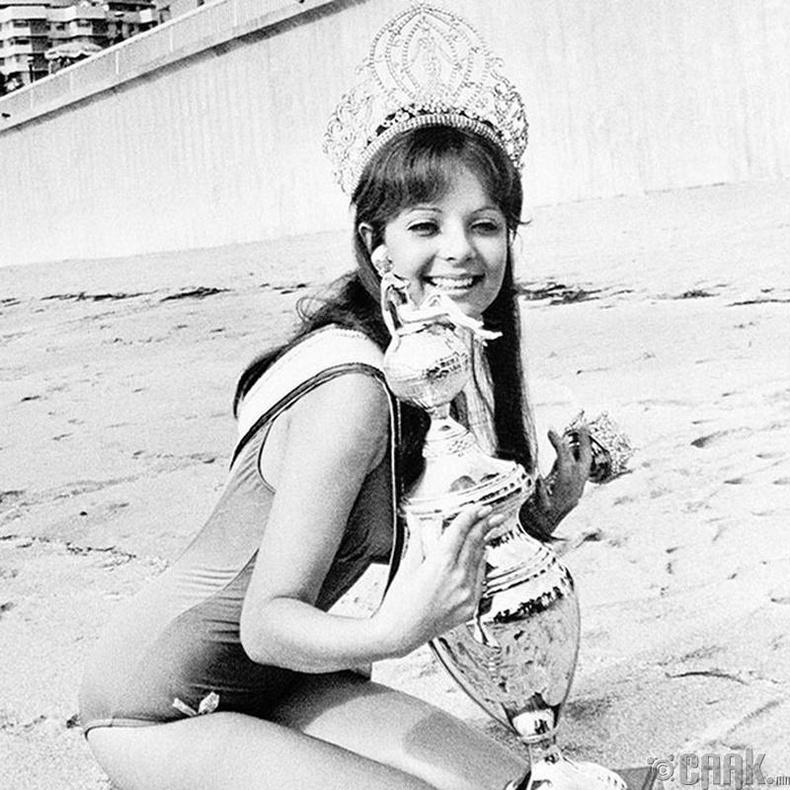 """Miss Universe-1970""-ын ялагч: Пуэрто Рикогын гоо бүсгүй Марисол Малет, 21 настай, 173 см өндөр."