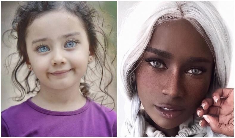 Дэлхий дээрх хамгийн ховор бөгөөд үзэсгэлэнтэй нүдтэй хүмүүс (30 фото)
