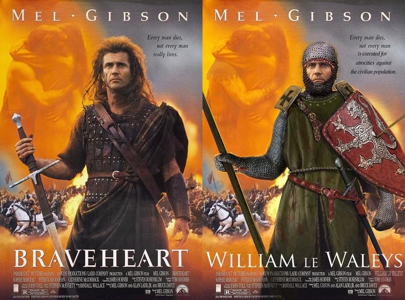 """Уиллиам Уаллэс (William Wallace) - """"Braveheart"""""""