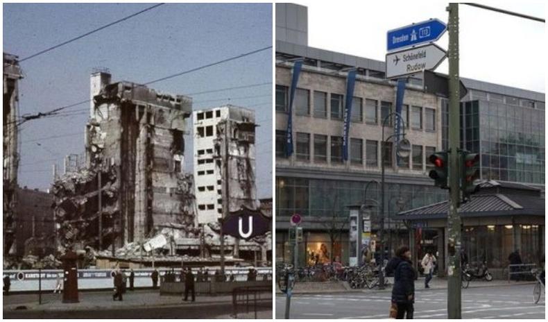 Берлин хотын өнгөрсөн ба одоо
