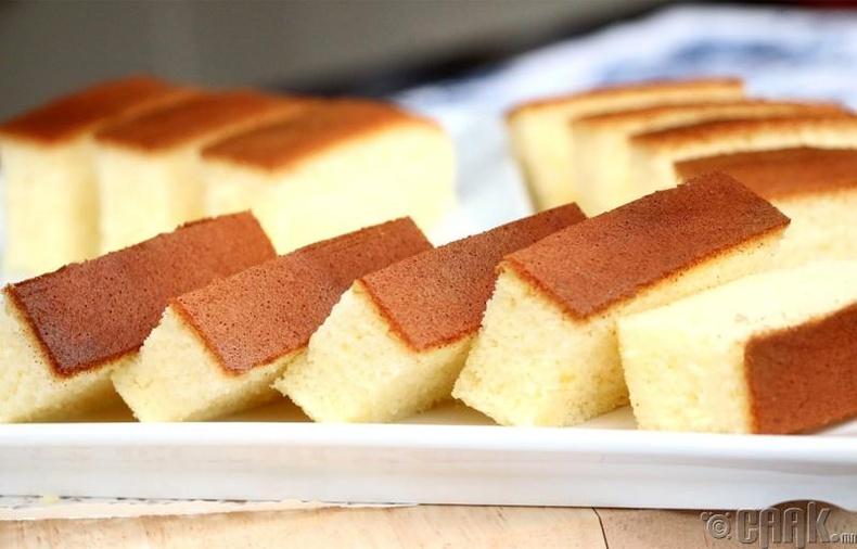 Кастелла бялуу (Castella)