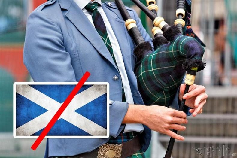 Цуур хөгжим Шотландаас гаралтай