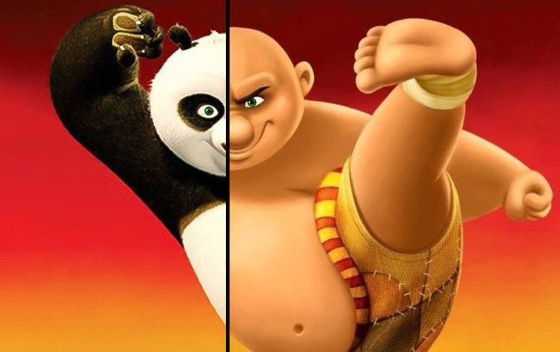 Хүүхэлдэйн киноны баатрууд бодит амьдрал дээр