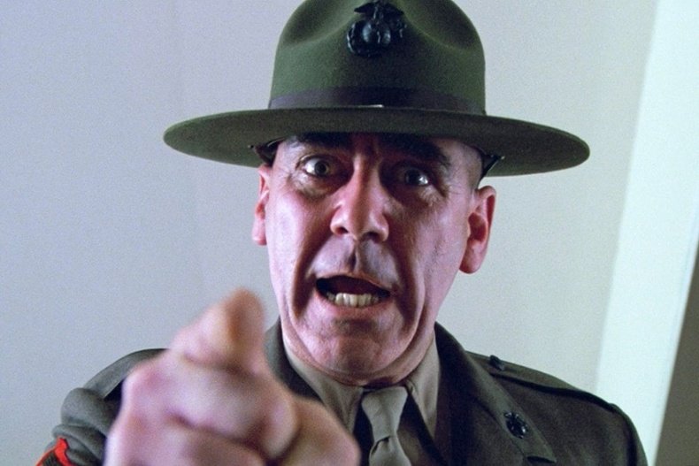 "Ли Эрми (Lee Ermey) - ""Full Metal Jacket"" (1987)"