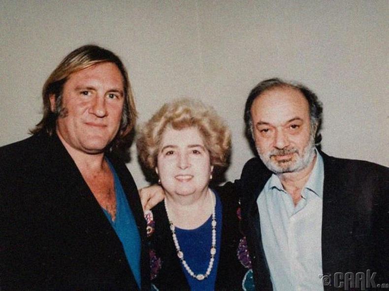 Жерар Депардье болон Клод Берри (Gerard Depardieu and Claude Berry)