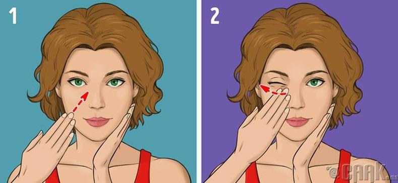 Нүүрний зууван хэлбэрийг сэргээх