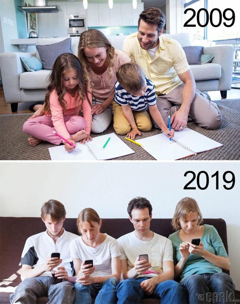 """""""10 Year Challenge""""-ийг элэглэсэн нь Гэр бүлээрээ өөрчлөгдсөн нь"""