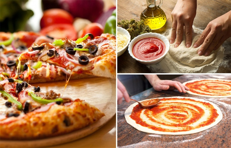 Пицца хэрхэн хийх вэ?