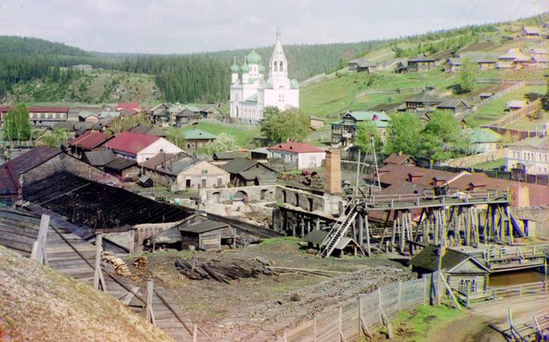 Гүн Страгановын эзэмшлийн завод - 1912 он