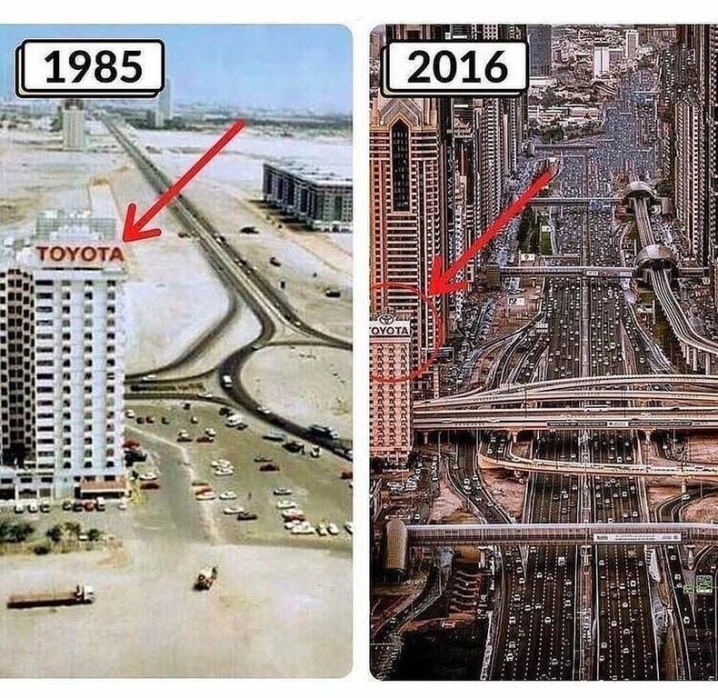 АНЭУ-ын Дубай хот, 1985-2016.