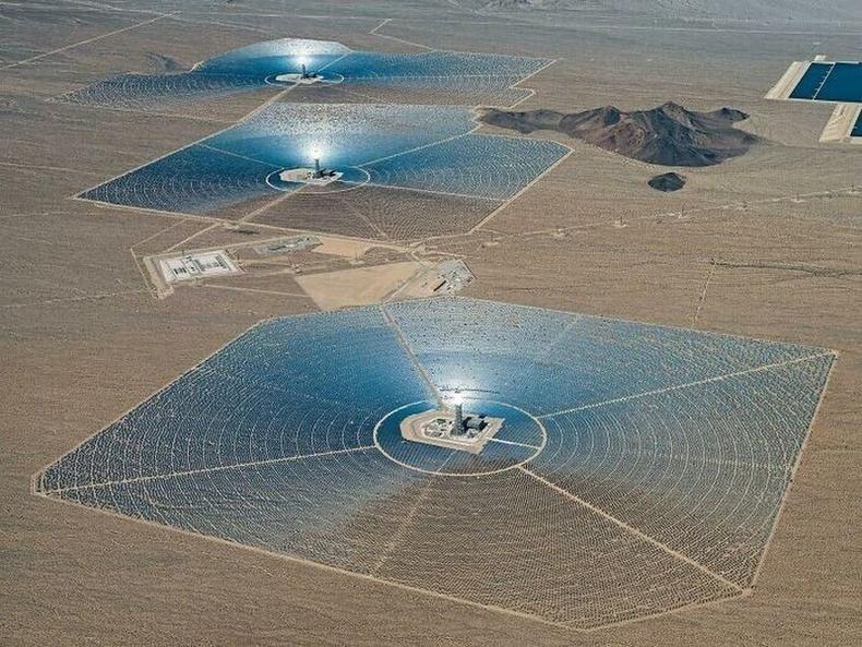 АНУ дахь нарны цахилгаан станц
