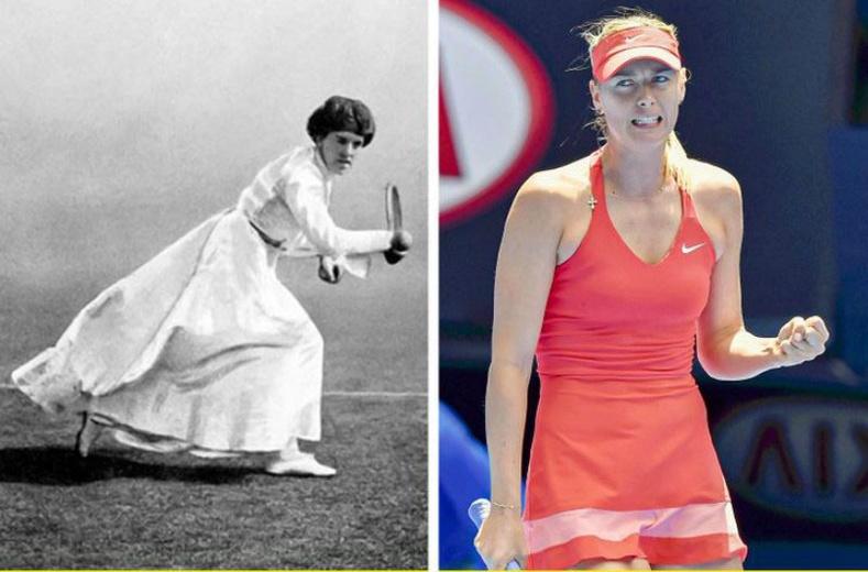 Эмэгтэй теннисчний өмсгөл