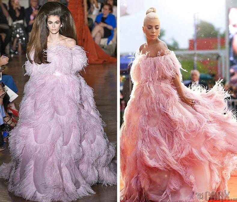 Кайя Гербер болон Лэди Гага