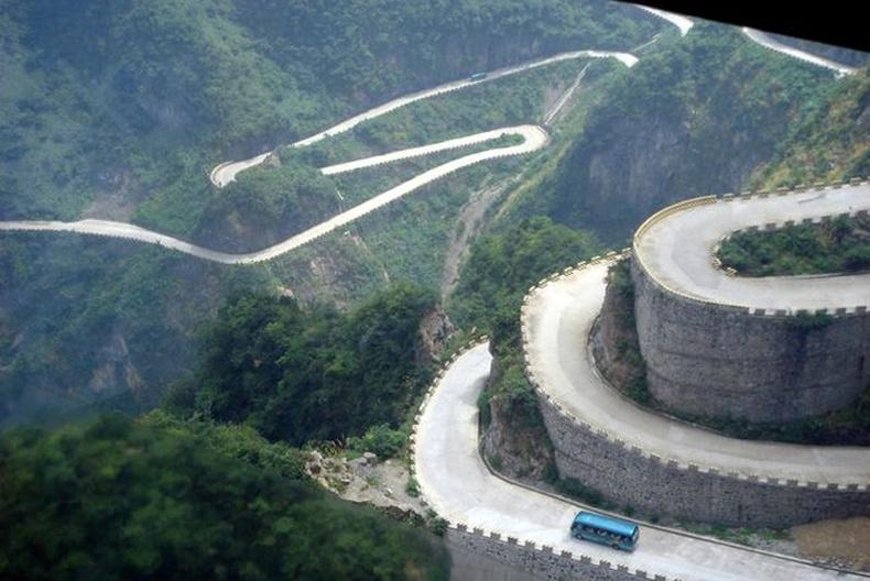 Хятадын хамгийн аюултай зам