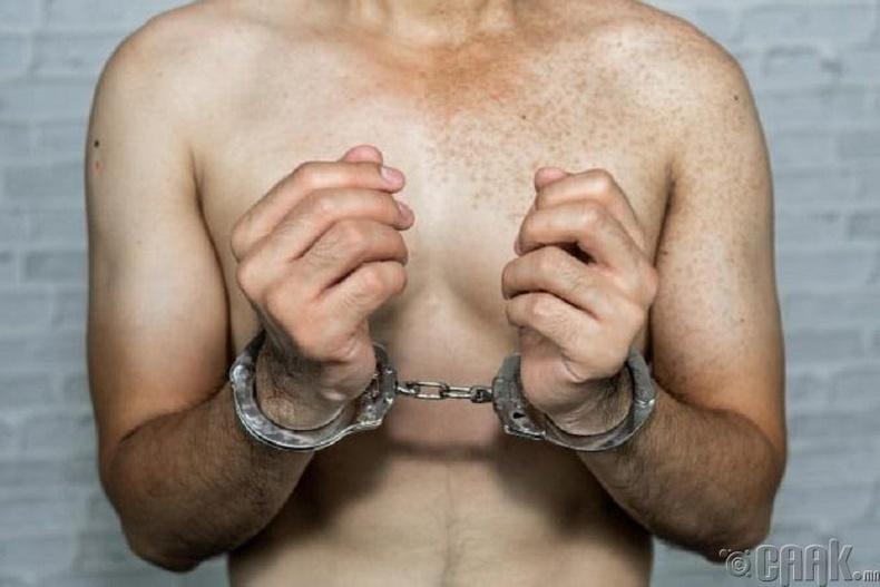 Нэргүй, ижил хүйстнүүдийн шорон – Чечень