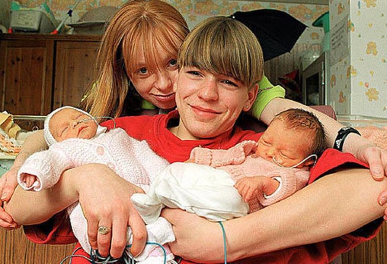 Дэлхийн хамгийн залуу эцэг эх