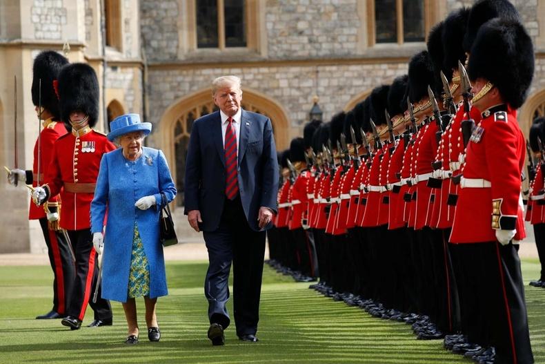 Британийн хатан хааны хамт (2018 оны долдугаар сар)
