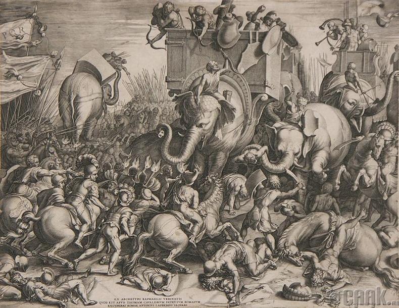 Илипийн орчимд африкийн Сципионы хийсэн маневр